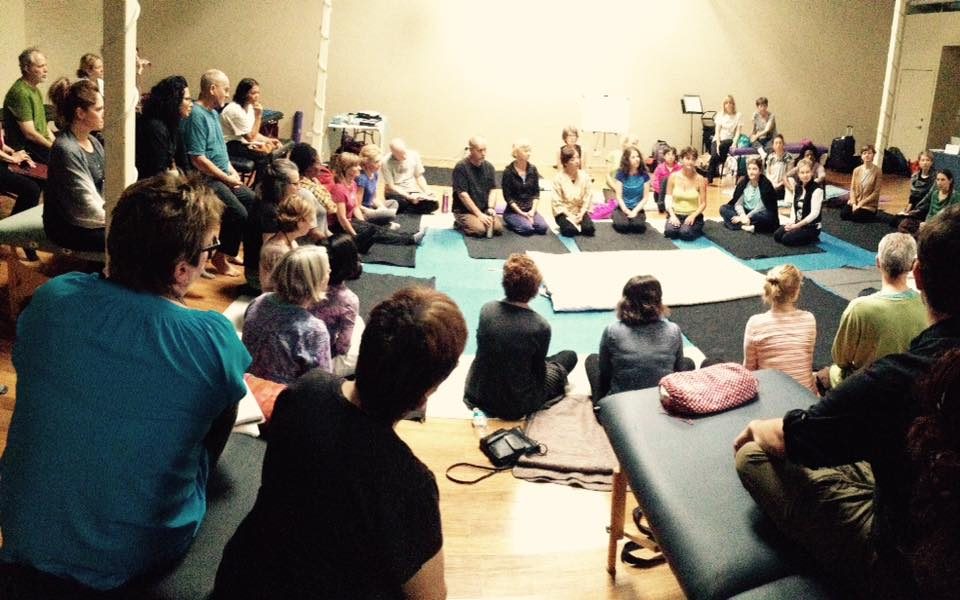 Inviato da Chicago Shiatsu Symposium 2015 Day 1 patrizia stefanini feedback