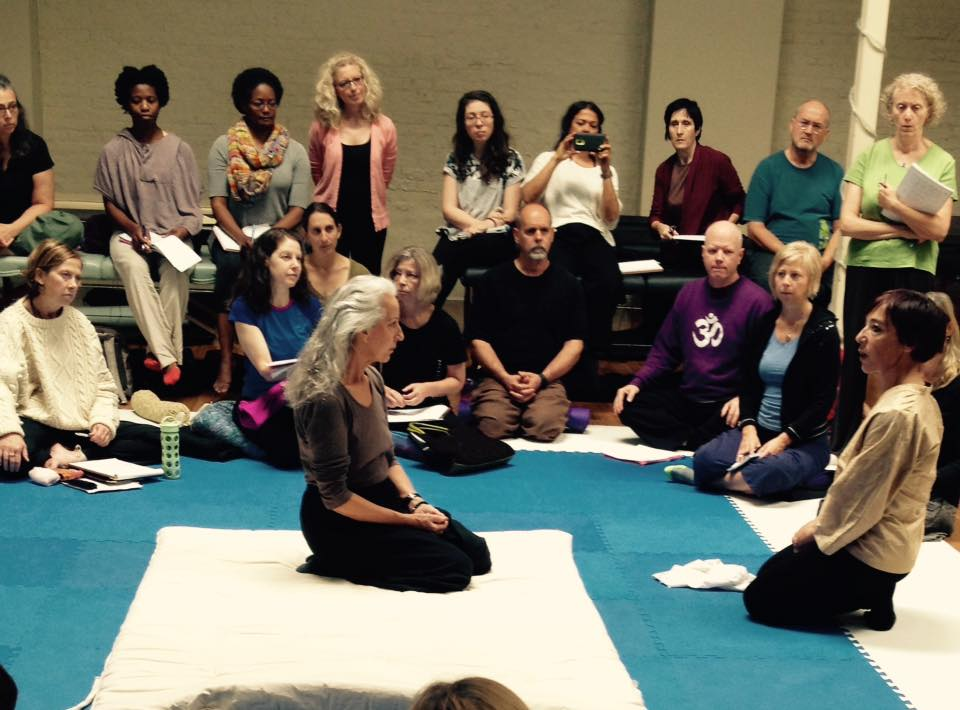 Inviato da Chicago Shiatsu Symposium 2015 Day 1 patrizia stefanini shiatsu session feedback