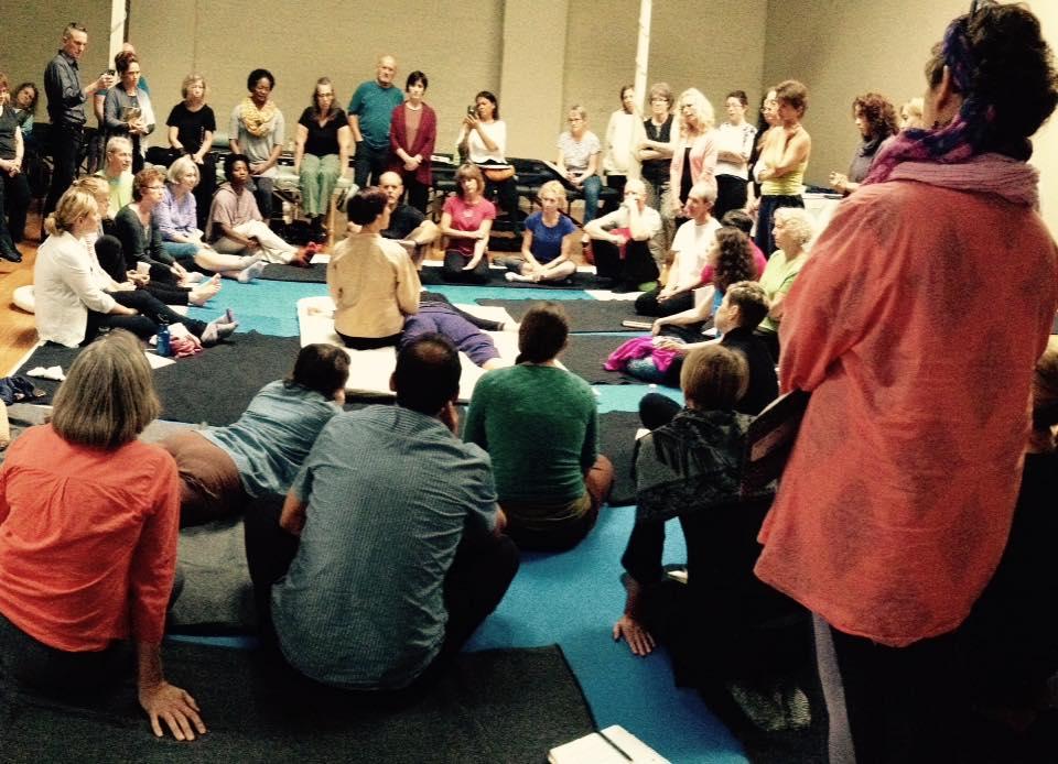 Inviato da Chicago Shiatsu Symposium 2015 Day 1 patrizia stefanini hado shiatsu session