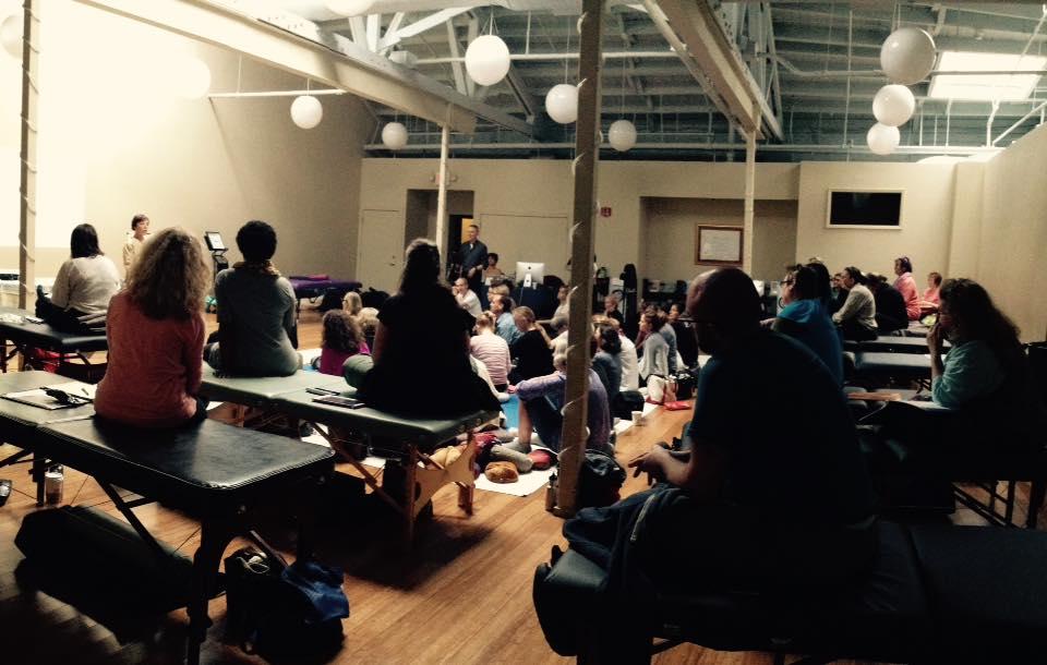 Inviato da Chicago Shiatsu Symposium 2015 Day 1 patrizia stefanini class