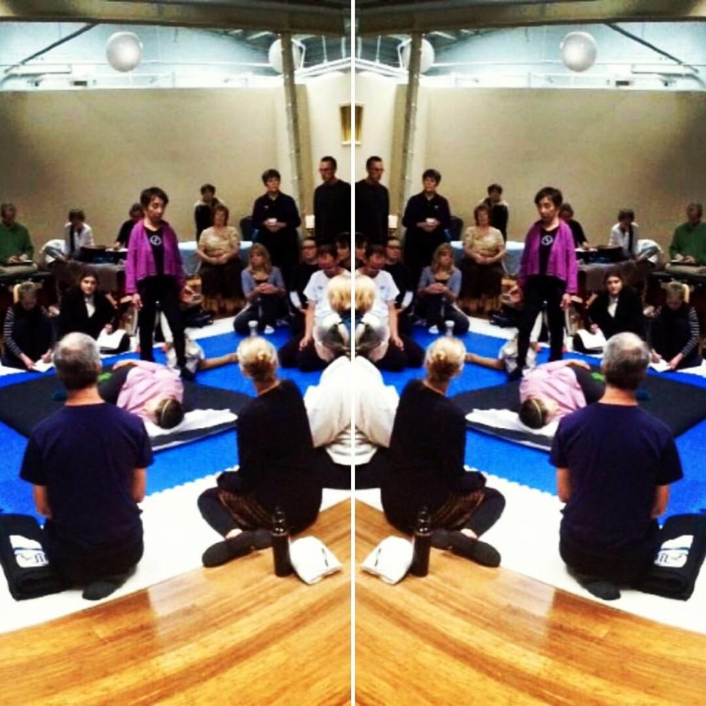 Inviato da Chicago Shiatsu Symposium 2015 Day 2 patrizia stefanini hadoshiatsu