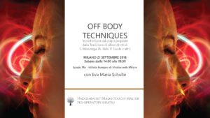 Off Body Techniques, lo Shiatsu dopo Masunaga: Sasaki, Kishi @ Spazio Mu - Istituto Europeo di Shiatsu Milano | Milano | Lombardia | Italia