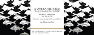 Il corpo sensibile -  Principi ed elementi di Danza Sensibile® a Milano @ Spazio Mu - Istituto Europeo di Shiatsu Milano   Milano   Lombardia   Italia
